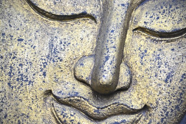 Entspannung Buddha Gesicht