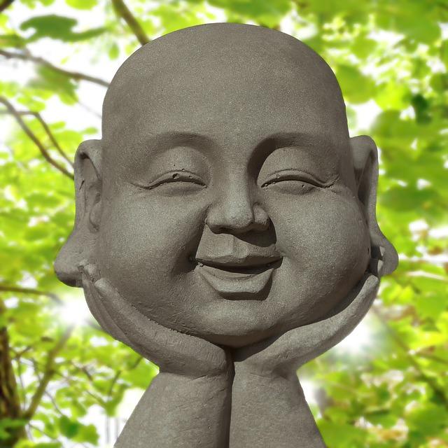 lächelnder Buddha
